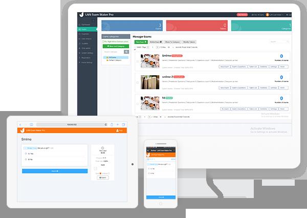 See more of LAN Exam Maker Standard
