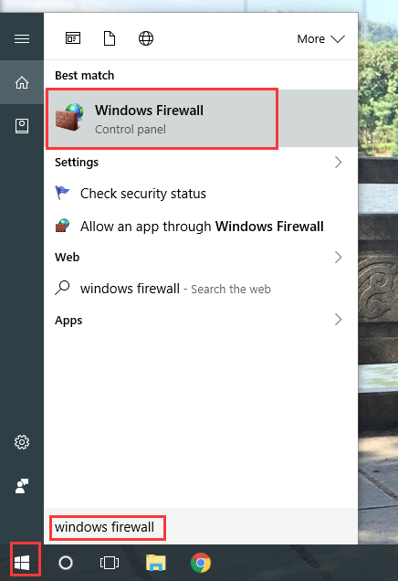 open windows firewall for add LAN Exam Maker to the exception