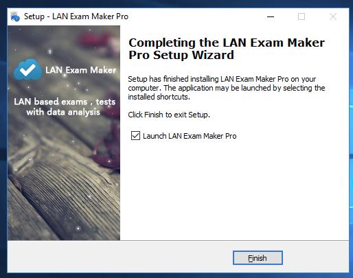 Install LAN Exam Maker to vps