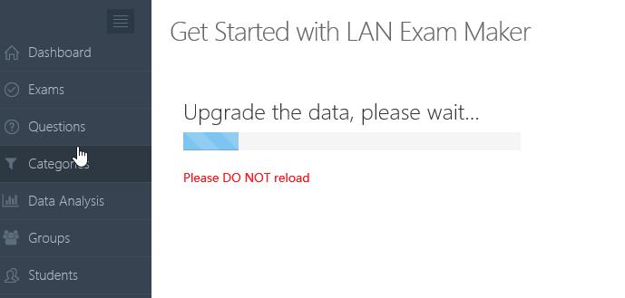 Install LAN Exam Maker on VPS